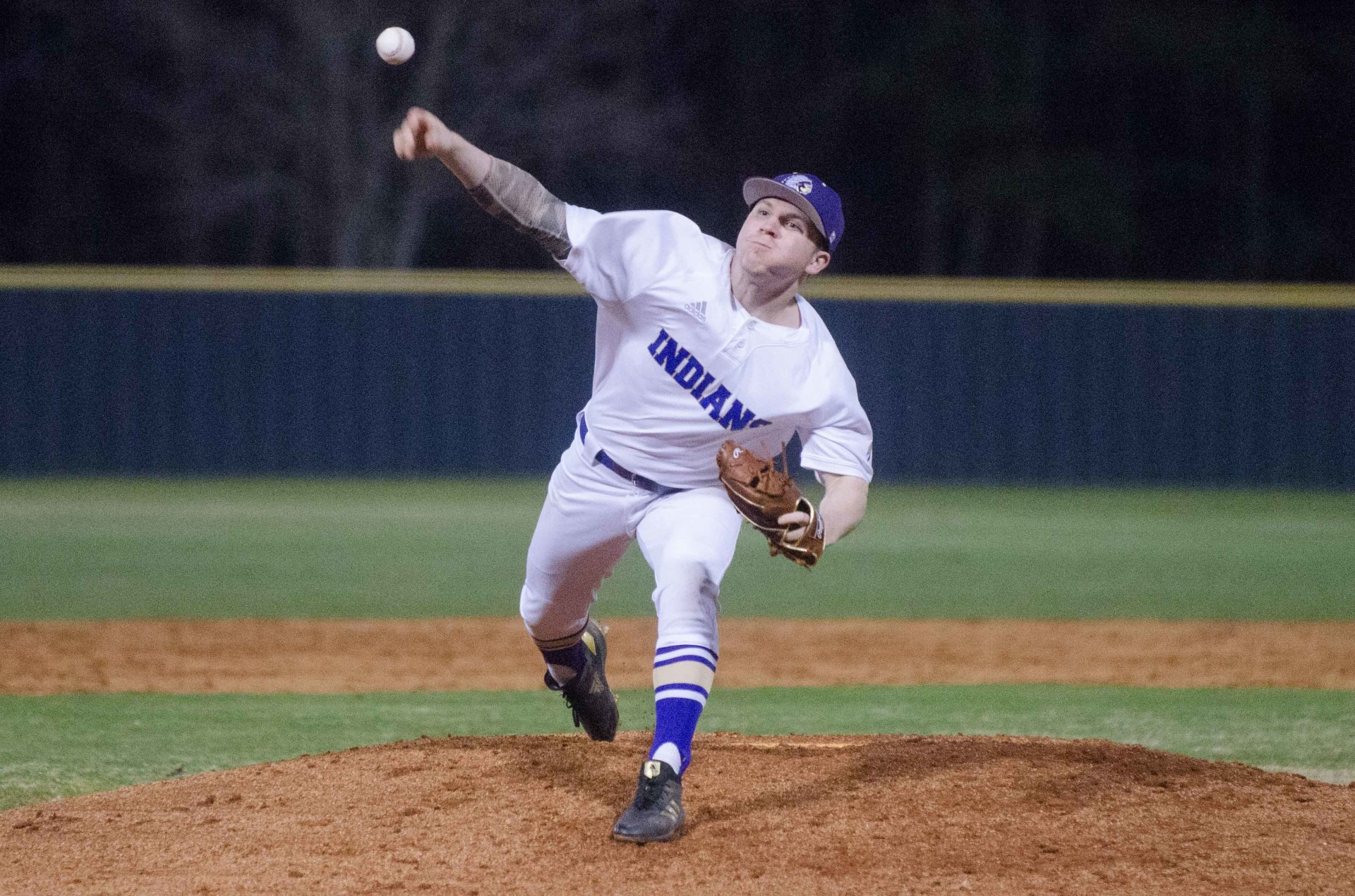 East Coweta's Logan Frady pitched the opening four innings of a shutout win over Griffin.